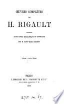 Œuvres complètes, précédées d'une notice biogr. et litt. par m. Saint-Marc Girardin