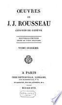 Œuvres de J.J. Rousseau citoyen de Genève