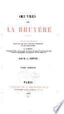 Œuvres de La Bruyère