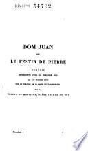 Œuvres de Molière: Dom Juan ou Le festin de Pierre, comédie. L'amour médecin, comédie. Le misanthrope, comédie