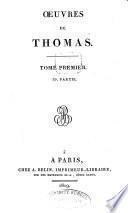 Œuvres de Thomas