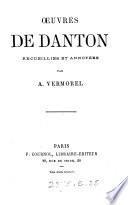 Œuvres, recueillies et annotées par A. Vermorel