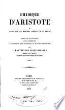 Œuvres (tr. par J. Barthélemy Saint-Hilaire). [32 vols. The Politique is of the 2nd ed.].