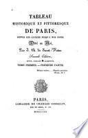 Tableau historique et pittoresque de Paris