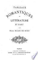 Tableaux romantiques de littérature et d'art