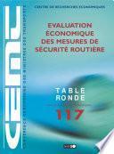 Tables Rondes CEMT Evaluation économique des mesures de sécurité routière