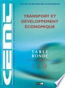 Tables Rondes CEMT Transport et développement économique