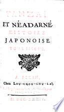 Tanzaï et Néadarné, histoire japonoise