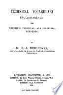 Technical Vocabulary