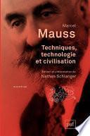 Techniques, technologie et civilisation