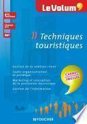 Techniques touristiques - Le Volum' -