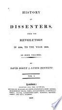 The history of Dissenters