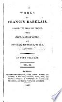 The Works of Francis Rabelais