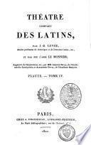 Théàtre complet des Latins