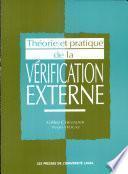Théorie et pratique de la vérification externe