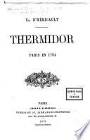Thermidor ...: Paris en 1794