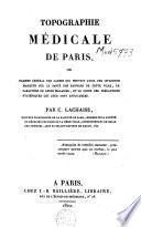 Topographie médicale de Paris