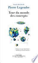 Tour du monde des concepts