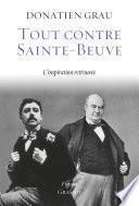 Tout contre Sainte-Beuve