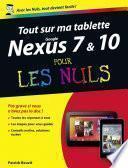 Tout sur ma tablette Google Nexus 7 et 10 Pour les Nuls