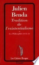 Tradition de l'existentialisme