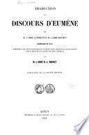 Traduction des discours d'Eumène