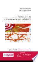Traduction et Communication orientée