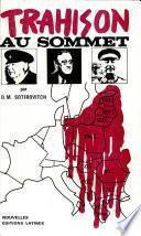 Trahison Au Sommet Dans Les Maquis Yougoslaves Sotirovithch Draga