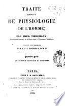 Traité complet de physiologie de l'homme
