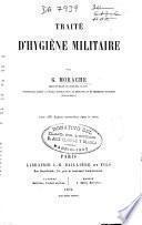 Traité d'hygiène militaire