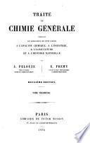 Traité de chimie générale
