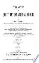 Traité de droit international public