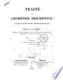 Traité de géométrie descriptive avec une collection d'épures, composée de 60 planches par C.-F.-A. Leroy.- Paris : Carilian-Goeury