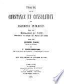 Traité de la constance et consolation ès calamitez publiques