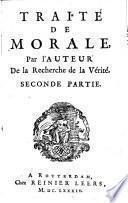 Traité De Morale