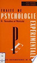 Traité de psychologie expérimentale (2)