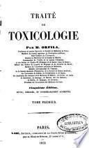 Traité de toxicologie