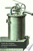 Traité des matières colorantes artificielles dérivées du goudron de houille
