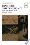 Traité des objets musicaux