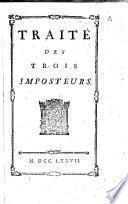 Traité des trois imposteurs