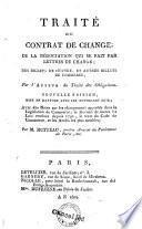 Traité du contrat de change