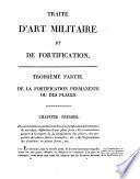 Traité élémentaire d'art militaire et de fortification
