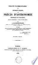 Traité élémentaire de physique céleste