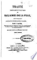Traité théorique et pratique des maladies de la peau
