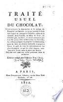 Traité usuel du chocolat
