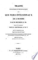 Traité zoologique et physiologique sur les vers intestinaux de l'homme
