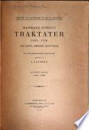 Traités du Danemark et de la Norvège