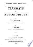 Tramways et automobiles