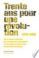 Trente ans pour une révolution 1978-2008