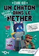 Un chaton (qui s'est perdu) dans le Nether -
